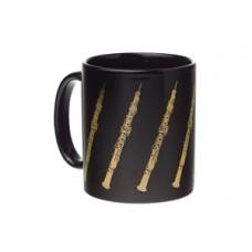 Mug Oboe Black & Gold